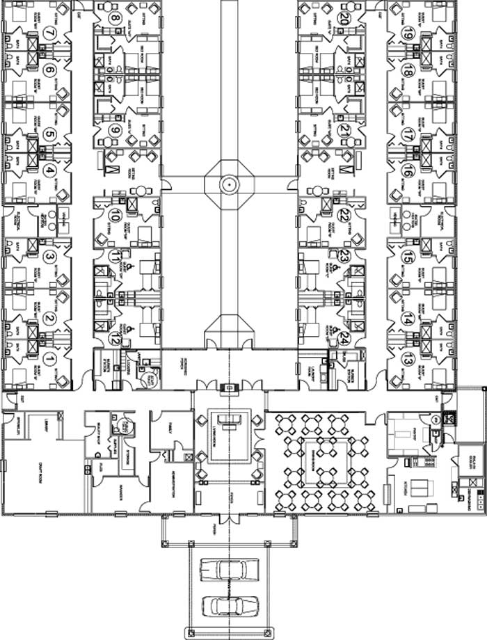 Nursing Home Floor Plans House Design